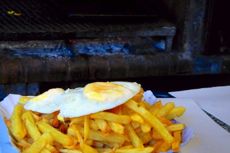 Eggs on Fries
