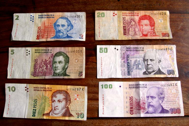 Argentine Banknotes