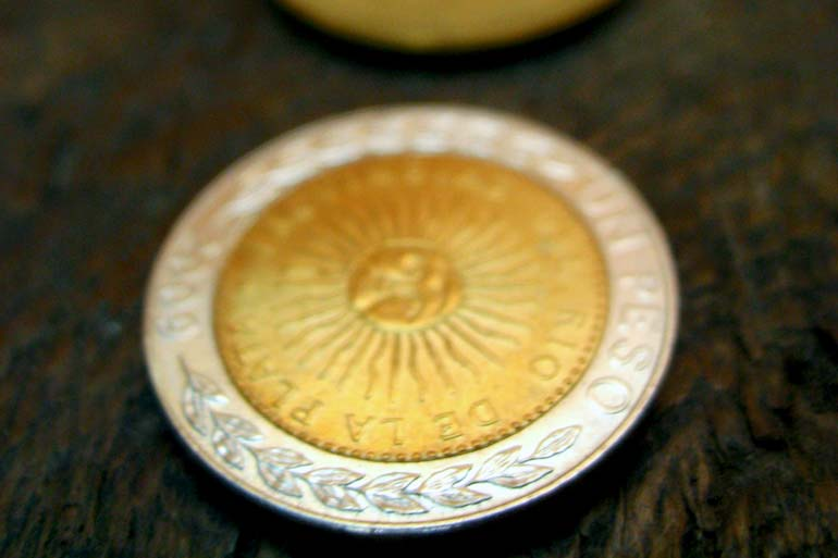 One Argentine Peso