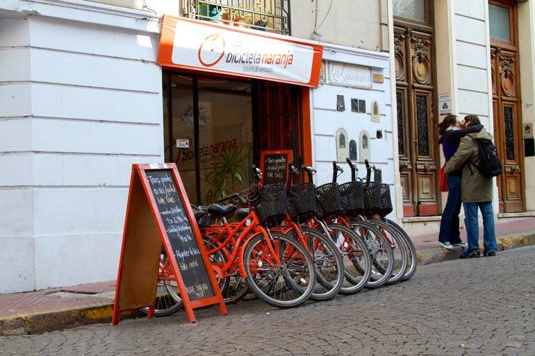 La Bicicleta Naranja